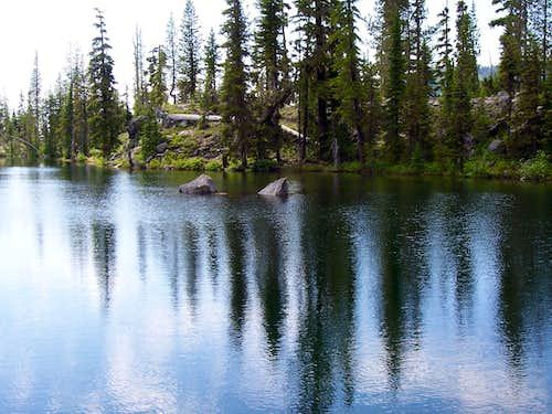 Notch lake/Trail to Mt yoran