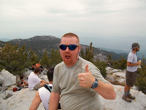 San Jacinto Peak, CA, June 24th, 2006