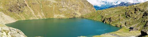 Lago di Laures inferiore