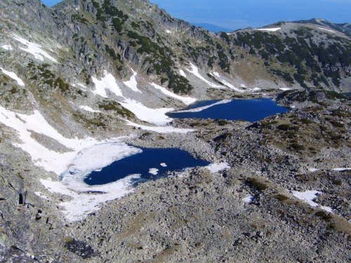 Lakes in the Musala cirque