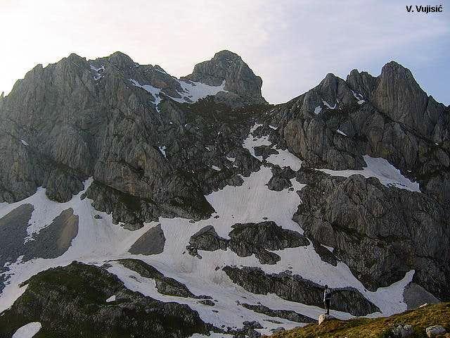 View to Bobotov Kuk