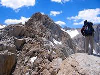 Peak 3985m E. ridge