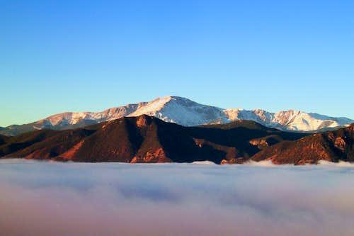 Between October Sky and Valley Fog