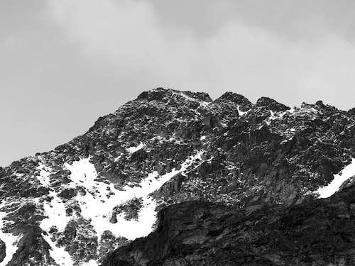 La Punta di Laures (3367m)