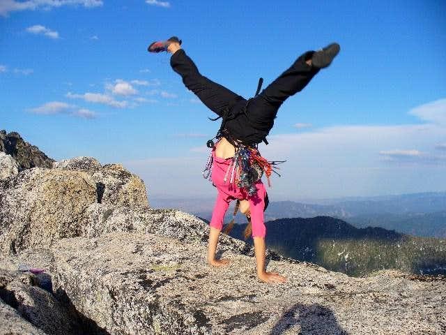 Prusik Peak Cartwheel