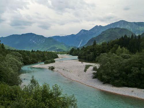 The river Soca