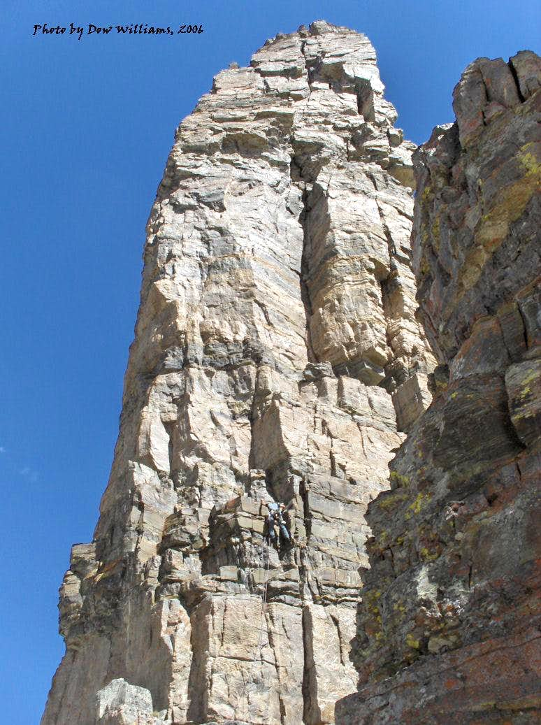 South Face, II, 5.9