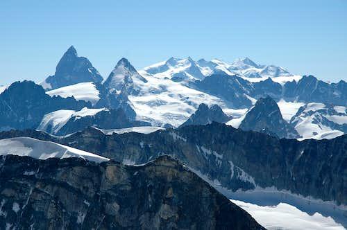 Matterhorn, Monte Rosa