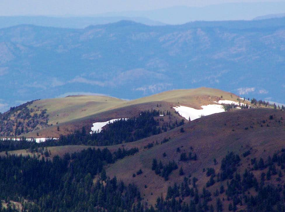 Baldy from Indian Spring Butte