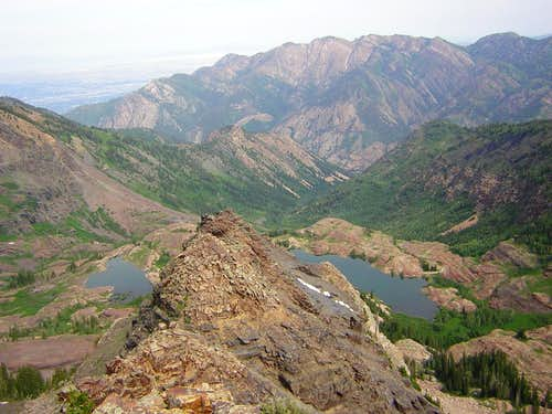 View from Sundial Peak