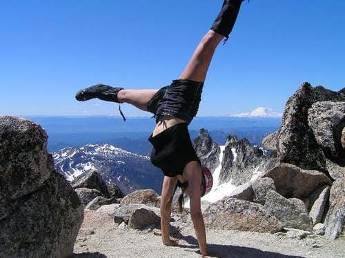 Dragontail Summit Cartwheel