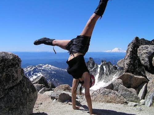Dragontail & Colchuck Peaks