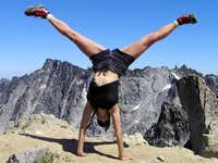 Colchuck Summit Cartwheel