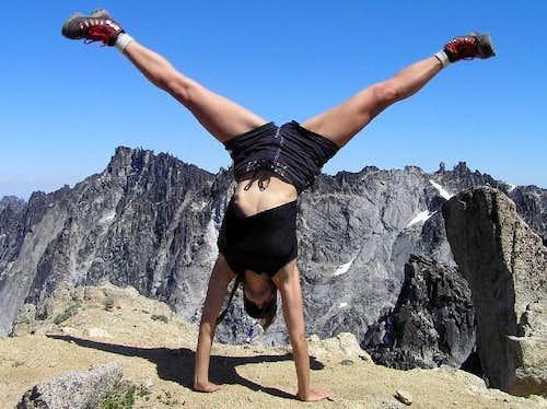 Colchuck Summit Cartwheel