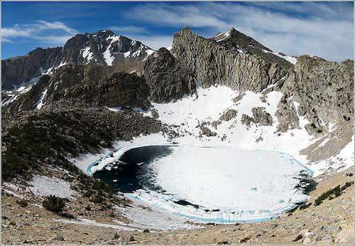 University Peak and Big Pothole Lake
