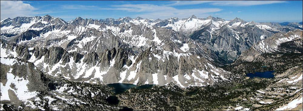 Summit Pano from Mt Gould