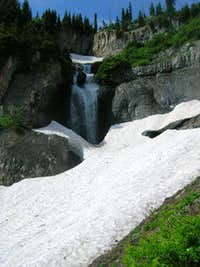 Waterfall in Primrose Cirque