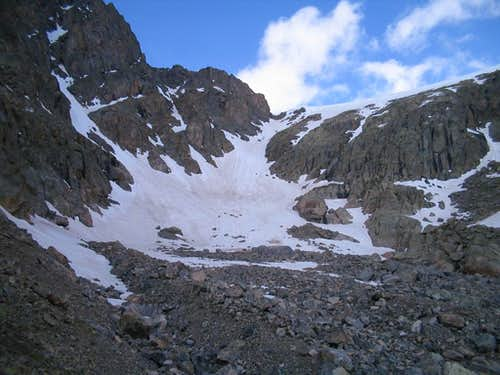 Base of Angelica Couloir