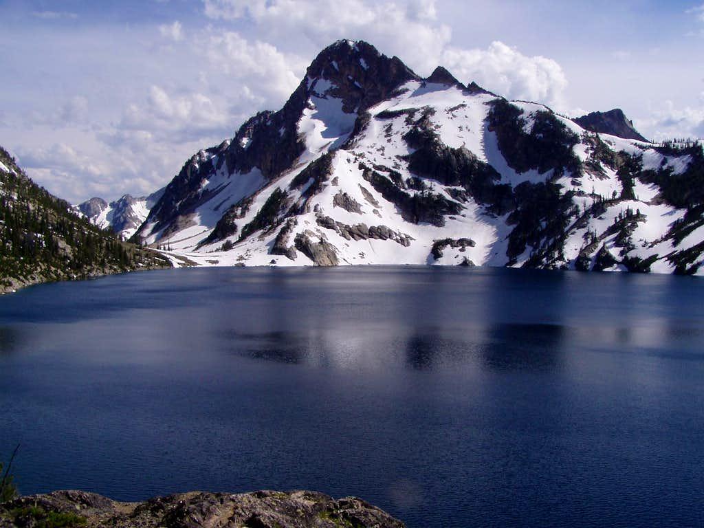 Regan - from across Sawtooth Lake
