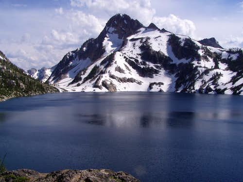 Regan - from across Sawtooth Lake