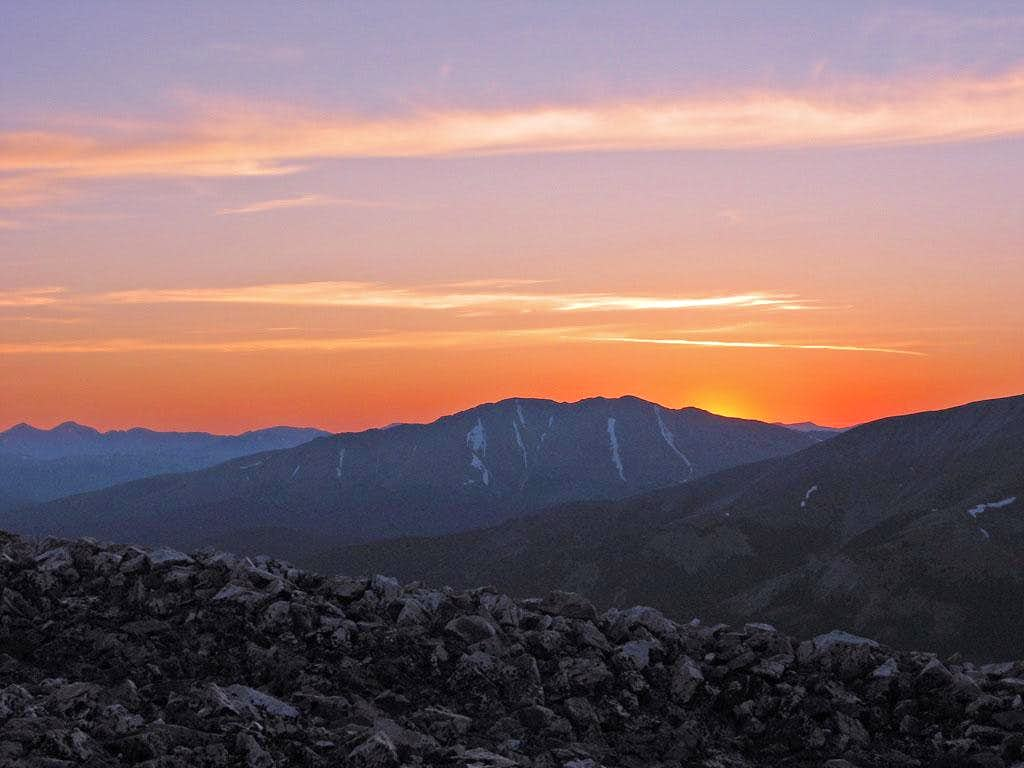 Sunrise over Bald Mountain