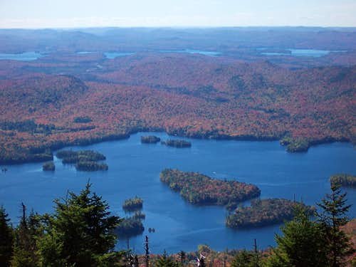 Blue Mt. Lake from Blue Mt.
