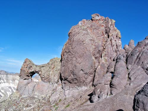 Teakettle summit block