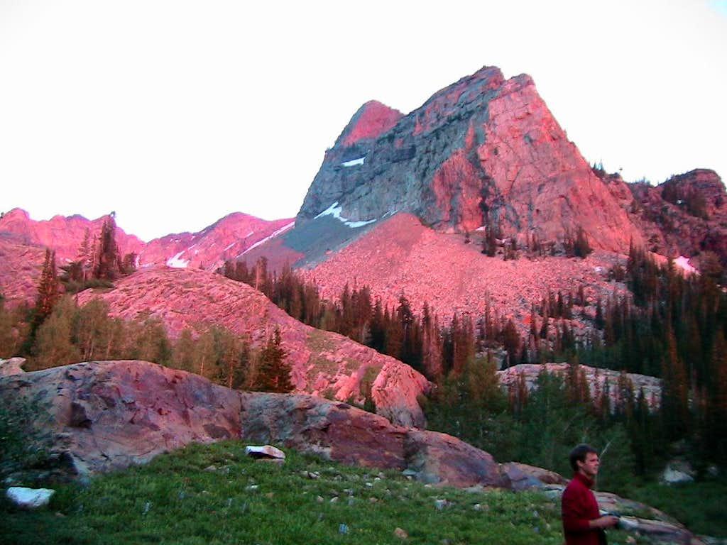 Sundial Alpenglow
