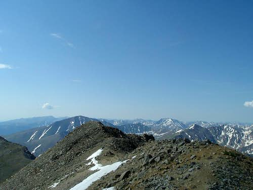 Mt Elbert & LaPlata Peak