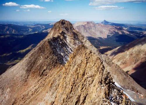 The El Diente/Wilson ridge...