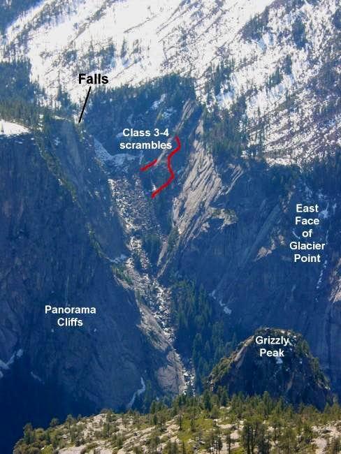 Illilouette Gorge