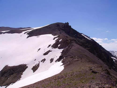 Relief Peak\'s NW Ridge