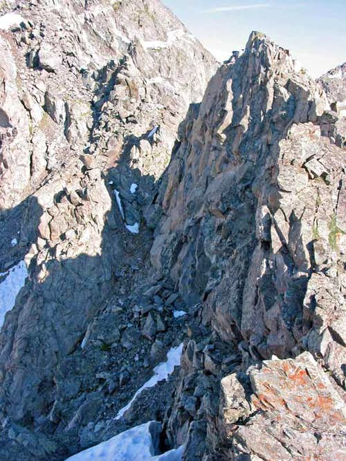 Crux of the route...