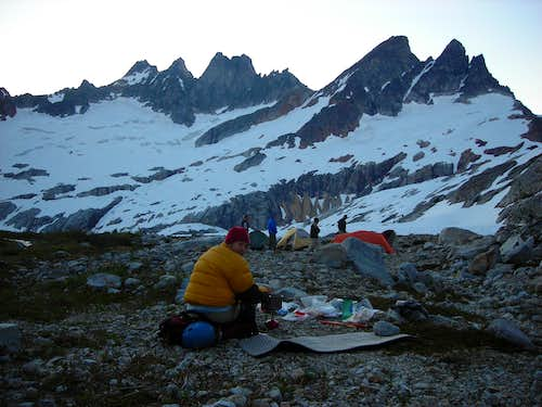 Inspiration Peak - Basecamp