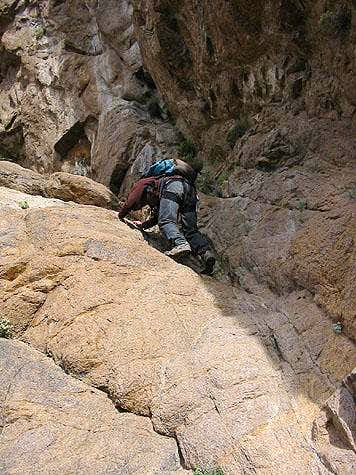 Crux of the Great Ramp