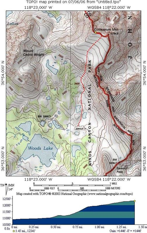 Southwest Slope Map