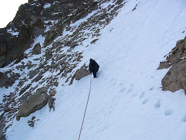 Couloir crossing