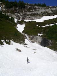 Approaching Itswood ridge