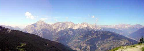 the western boundaries of Val di Susa