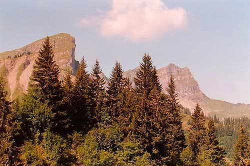 Pointe de Chavache and Pointe...
