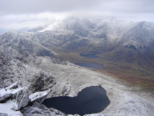Carrauntoohil in winter