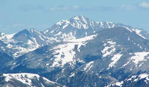 Mount Jackson from the south