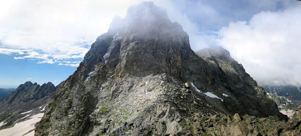 Mt toll from the Toll/Pauite saddle