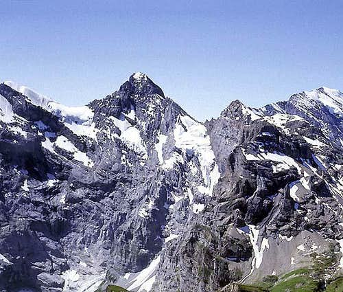 Gspaltenhorn from the northeast