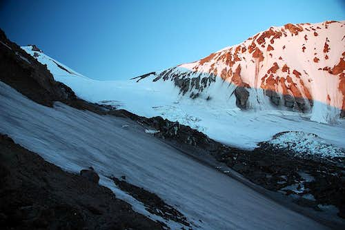 Whitney Glacier - start of route