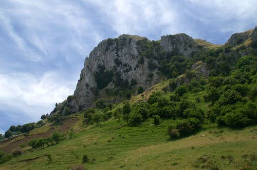 The north face of Monte Macabubbo