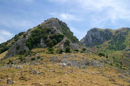 Puraccia Ridge and Monte Macabubbo