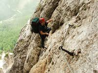 I\'m enjoying the ferrata :)