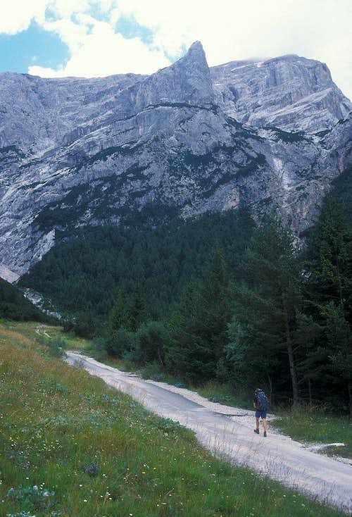 road to Rifugio Scotter