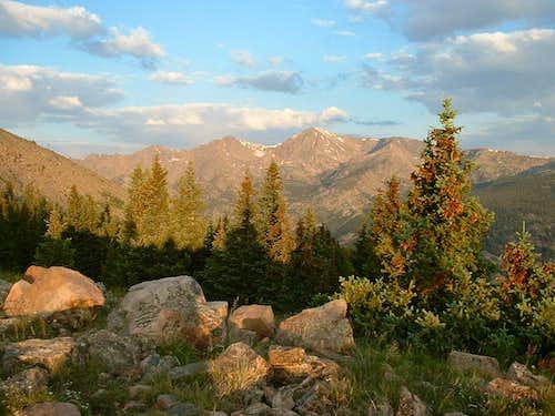 Sunrise on Mount Jackson